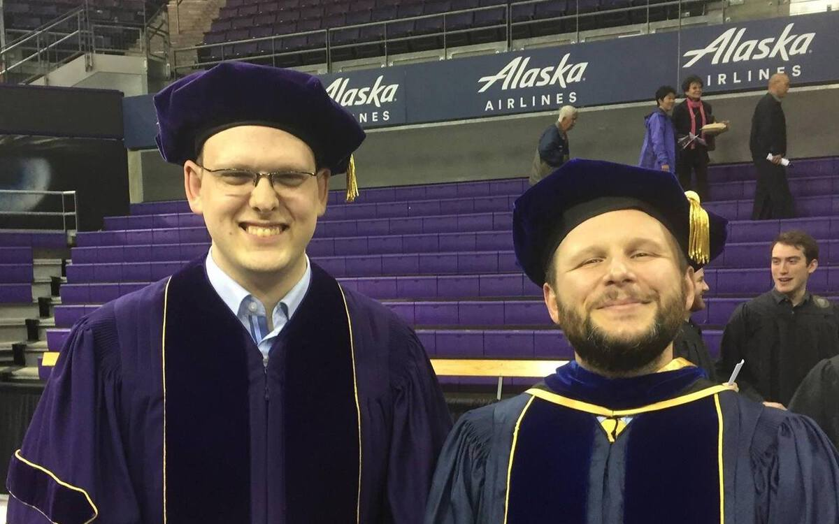 Konstantin Weitz and Zachary Tatlock Graduation